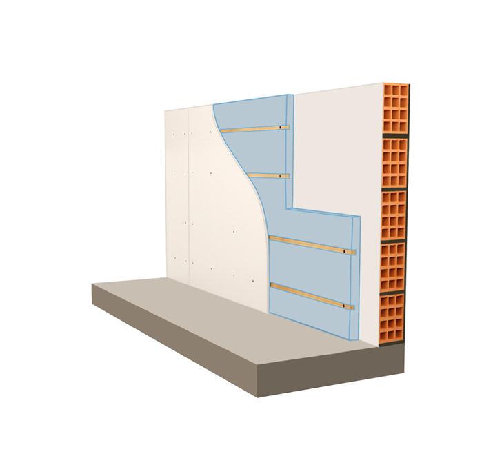 isoalmento pareti interne